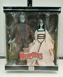 The Munsters Giftset Barbie Doll Collectibles 2001 Minor Box Distress Rare Find