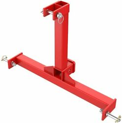 Sulythw 3 Point Trailer Hitch With 2 Receivers For Category 1 Tractors 3 Point