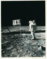 Apollo 11- Crew Signed Vintage Photograph Signed By All 3 Astronauts