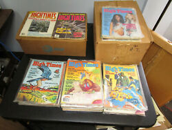 Vintage 126 Early High Times Magazines 1975-89 Large Lot Cheech And Chong Beatles