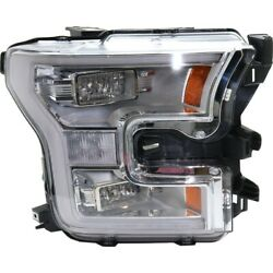 Headlight Lamp Right Hand Side For F150 Truck Passenger Rh Ford F-150 Fo2503344