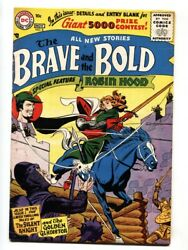 The Brave And The Bold 8 1957- Silent Knight-comic Book