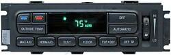 Apdty 600141 Ac/heater Climate Control Head / Module W/atc Remanufactured