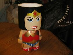 Wonder Woman D C Comics Groovy Brand Battery Operated Accent Lamp With Shade
