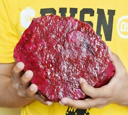 32000ct/6.550kg Natural Most Rare Red Ruby Gemstone Big Rough Best Deal Offer