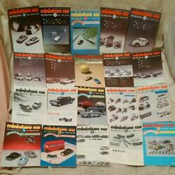 Miniature Car Magazine 197957 20 Volumes From 137 To 170