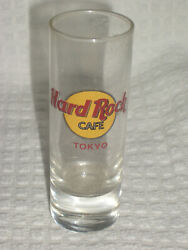 Tall Shot Glass - Hard Rock Cafe - Tokyo - Never Used