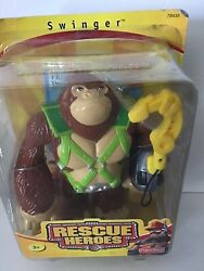 Fisher Price Rescue Heroes Swinger The Gorilla New In Unopened