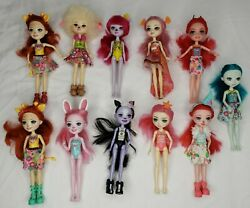 Enchantimals Lot Of 11 Dolls You Get Everything Shown.