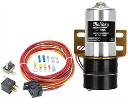 Mallory 22257k Fuel Pump And Relay Kit 60 Gph Includes Mallory High Performance E