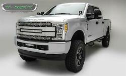 T-rex Grilles 6315485 Torch Series Grille 2017-up Ford F250sd/f350sd 1 Curved Le