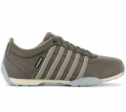 K-swiss Arvee 1.5 Menand039s Sneaker Braun 02453-221-m Casual Shoes Trainers New