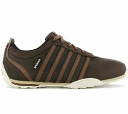 K-swiss Arvee 1.5 Menand039s Sneaker Braun 02453-282-m Casual Shoes Trainers New