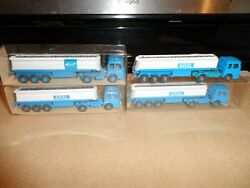 Wiking Ho Scale Tractors And Tank Trailers Aral 3 New 1 Used