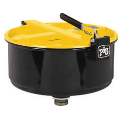 Pig Drm1210-yw Drum Funnelyellow14-1/2 Dia.steel