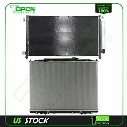 Fits 2005-2007 Honda Accord Replacement Radiator And Condenser Assembly