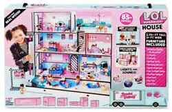 Lol Surprise House With 85+ Surprises Made Of Real Wood L.o.l. Dollhouse