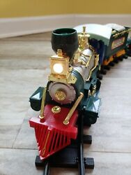 Vintage 1992 Northpole Christmas Magic Musical Animated Train Set By Toy State