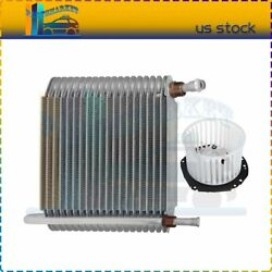 Front Blower Motor With Evaporator Core Fit For 1995-1996 Gmc Jimmy Replacement