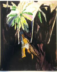 Peter Doig And039fishermanand039 2013 Signed Limited Edition Print 35 X 28 In. New