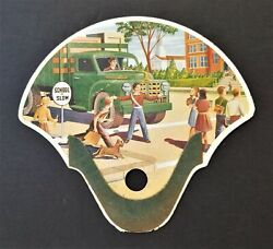 1950s Vintage Fosterand039s Funeral Service Collingswood Nj Hand Fan Advertising