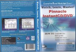 Cd-rom Pinnacle Watch Learn Master Instant Cd/dvd....how To On Mp3-dvd +