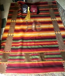 Vintage 1920's Pendleton Shriners/masonic Blanket And 2 Fez' Selling As Found Pets