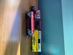 Snap On/ Ho Train Lot Has Multiple Cars And 4 Engines. E-z Track And Scenery.