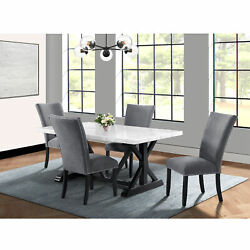 Picket House Furnishings Stratton 5pc Standard Height Dining Set Ctc100td5pc