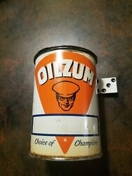 Vintage Oilzum Grease Lube Can