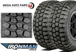 2 Ironman All Country M/t Lt235/80r17 E/10 120/117q Off-road Jeep Truck Mud Tire