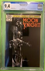 Moon Knight 25 1982 Cgc 9.4 Nm 1st Appearance Of The Black Spectre Moench