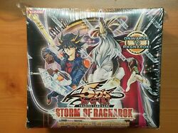 Yugioh Storm Of Ragnarok Special Edition Box New Factory Sealed. 10 Mini Boxes