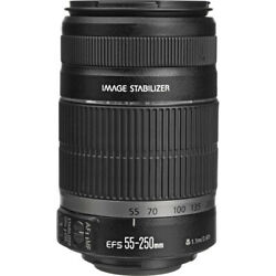 Canon Ef-s 55-250mm F/4-5.6 Is Ii Stabilized Telephoto Lens With Canon Usa War