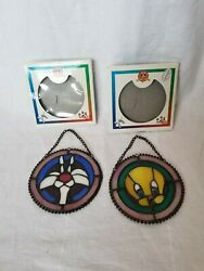Looney Tunes Stained Glass Sylvester And Tweety 1996