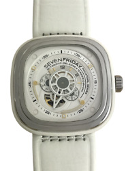 Seven Friday P Series P1/02 White Automatic