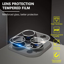 For Apple iPhone 13 12 Pro Max Mini 11 Back Camera Lens Tempered Glass Protector $4.49