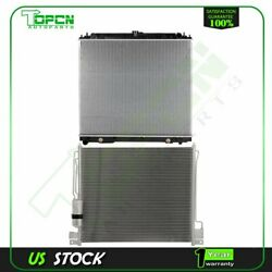 Fits Nissan Pathfinder Xterra Replacement Radiator And Condenser Assembly