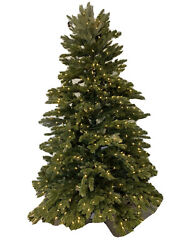 Balsam Hill Fraser Fir 7.5' Candlelight Led Open Box/ New Retail 1099 Tested
