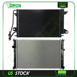 Fits 2007-2012 Lincoln Mkz Replacement Radiator And Condenser Assembly