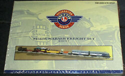 Lionel 6-31711 1563w Wabash Freight Set Tmcc F3 A 2240 Local Pickup Only