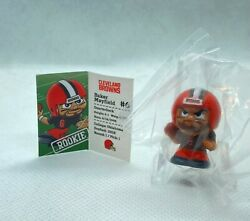 Nfl Teenymates Series 7 Baker Mayfield Figurine Cleveland Browns In Plastic Wrap
