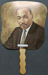 Vintage Dr. Martin Luther King Jr. Advertisement Fan Greenand039s Funeral Homes