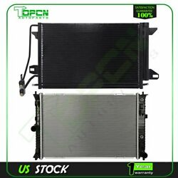 Fits 2010-2012 Ford Fusion Replacement Radiator And Condenser Assembly