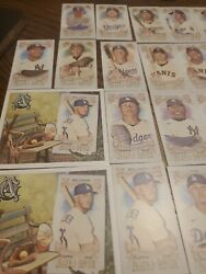 Allen And Ginter Box Loaders Cody Bellinger And 34 Mini Rookies Hof.mlb Lot Card