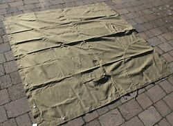 Ddr East German Army Shelter Cover In Strichtarn Camo 6ftx6ft