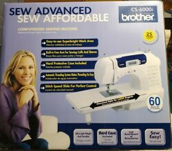 Brother Cs - 6000i Computerized Sewing Machine