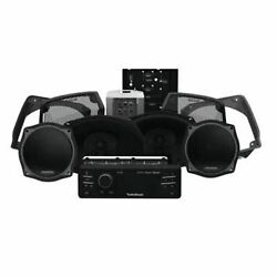 Audio Kits For 98-13 Harley-davidson Stage 3 Speaker And Amp Kit Hd9813sg-stage3