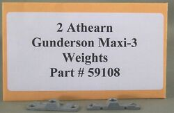 Athearn Parts - Gunderson Maxi-3 Small Weights Part 59108