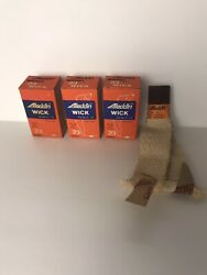 Vintage Nos Aladdin Lamp Wick Lot Of 3 In Box R-230 For Model 23 Burners New
